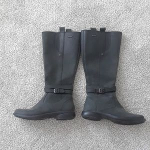 Merrell black knee high waterproof boots sz 7